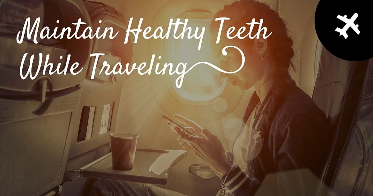 Maintain Healthy Teeth Banner